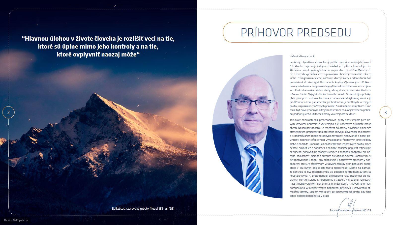 Náhľad brožúry o NKÚ SR 2019