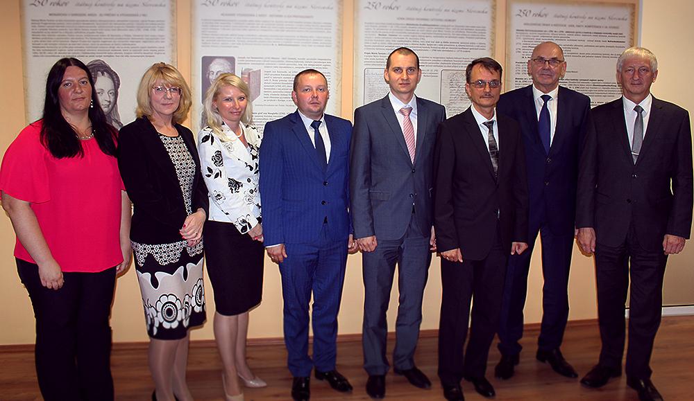 Stretnutie predstaviteľov NKÚ Slovenska a Bieloruska