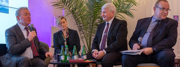 Podpredseda NKÚ SR Vladimír Tóth na konferencii o zmene klímy, Katowice, PL 7.12.2018