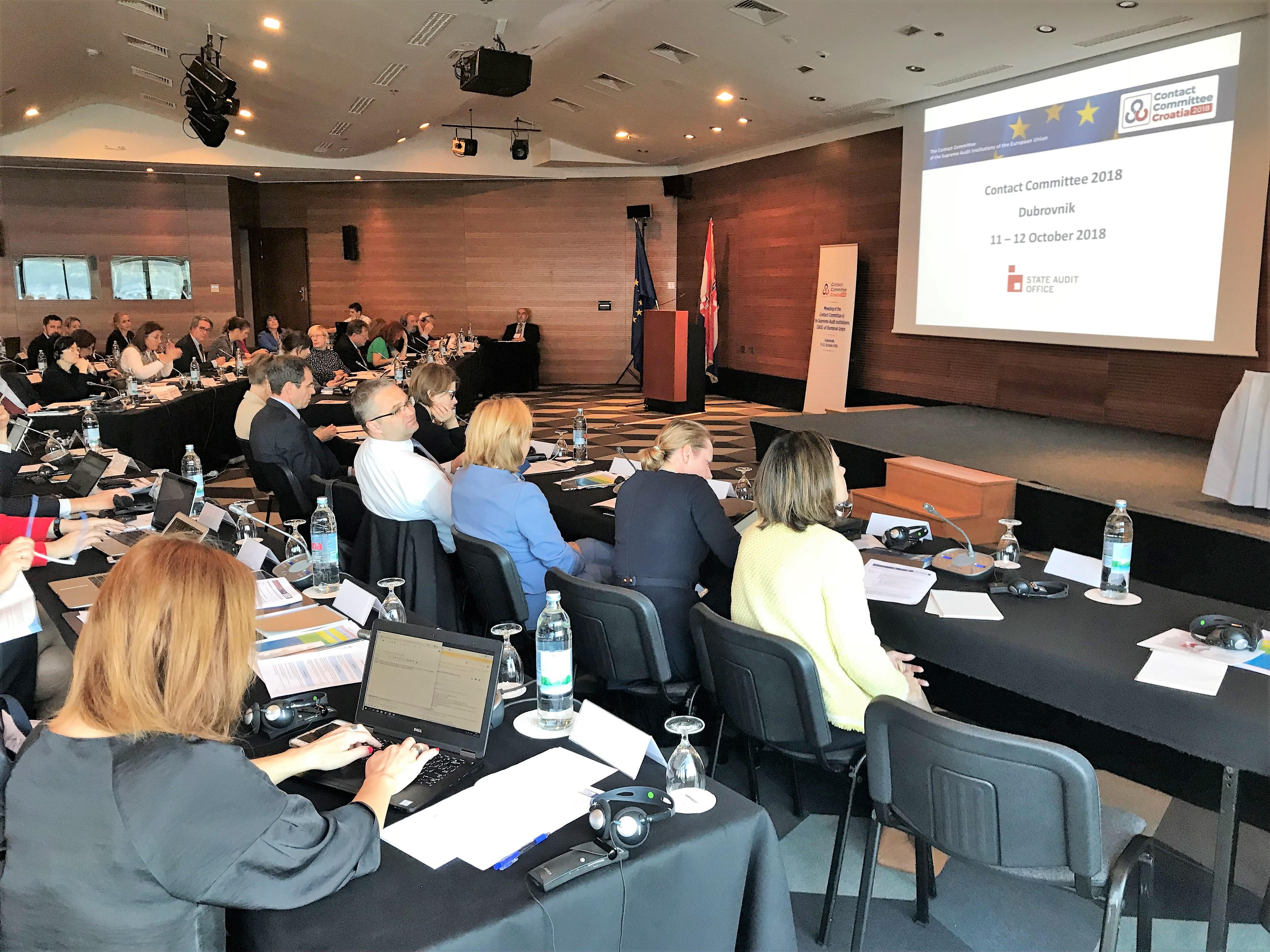 Kontaktný výbor, 11.-12. 10. 2018, Dubrovnik