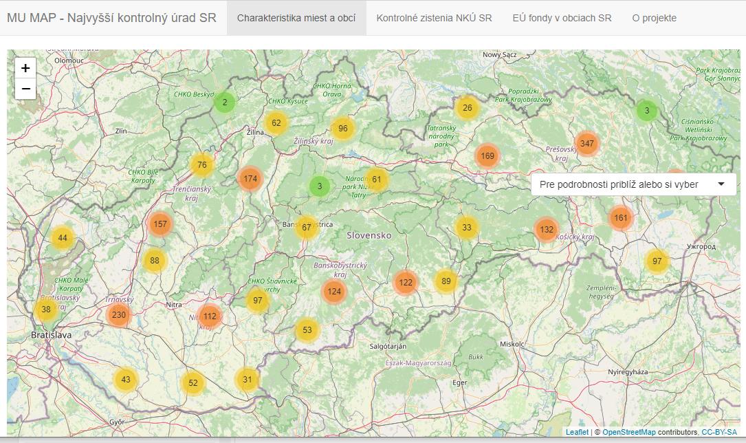 Náhľad mapy - mumap.nkusr.sk/