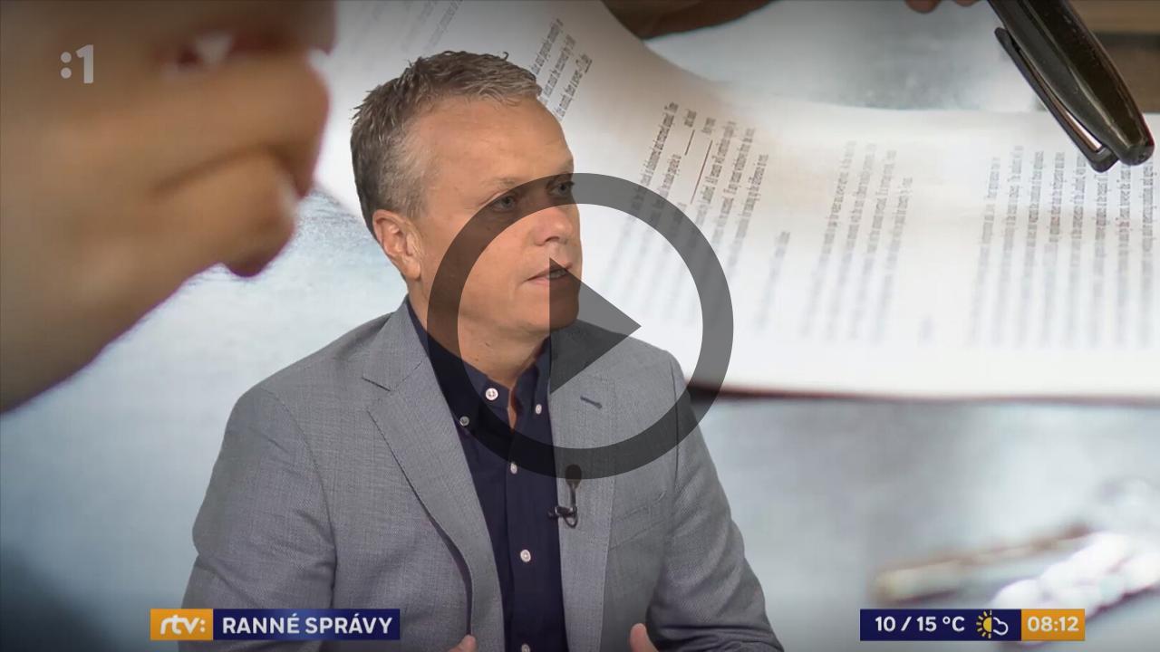 Ranné správy RTVS, 19.11.2019, hosť Ľubomír Andrassy (od 38. minúty)