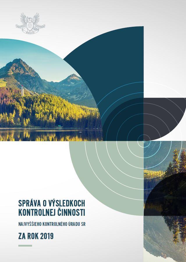 Titulná strana - Výročná správa NKÚ SR 2019