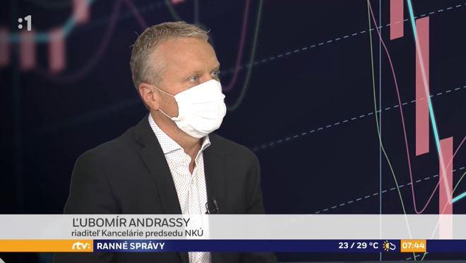 Generálny riaditeľ kancelárie predsedu NKÚ Ľ. Andrassy v RTVS