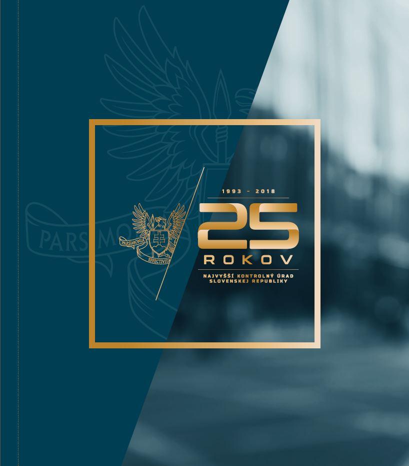 Publikácia k 25. výročiu NKÚ SR