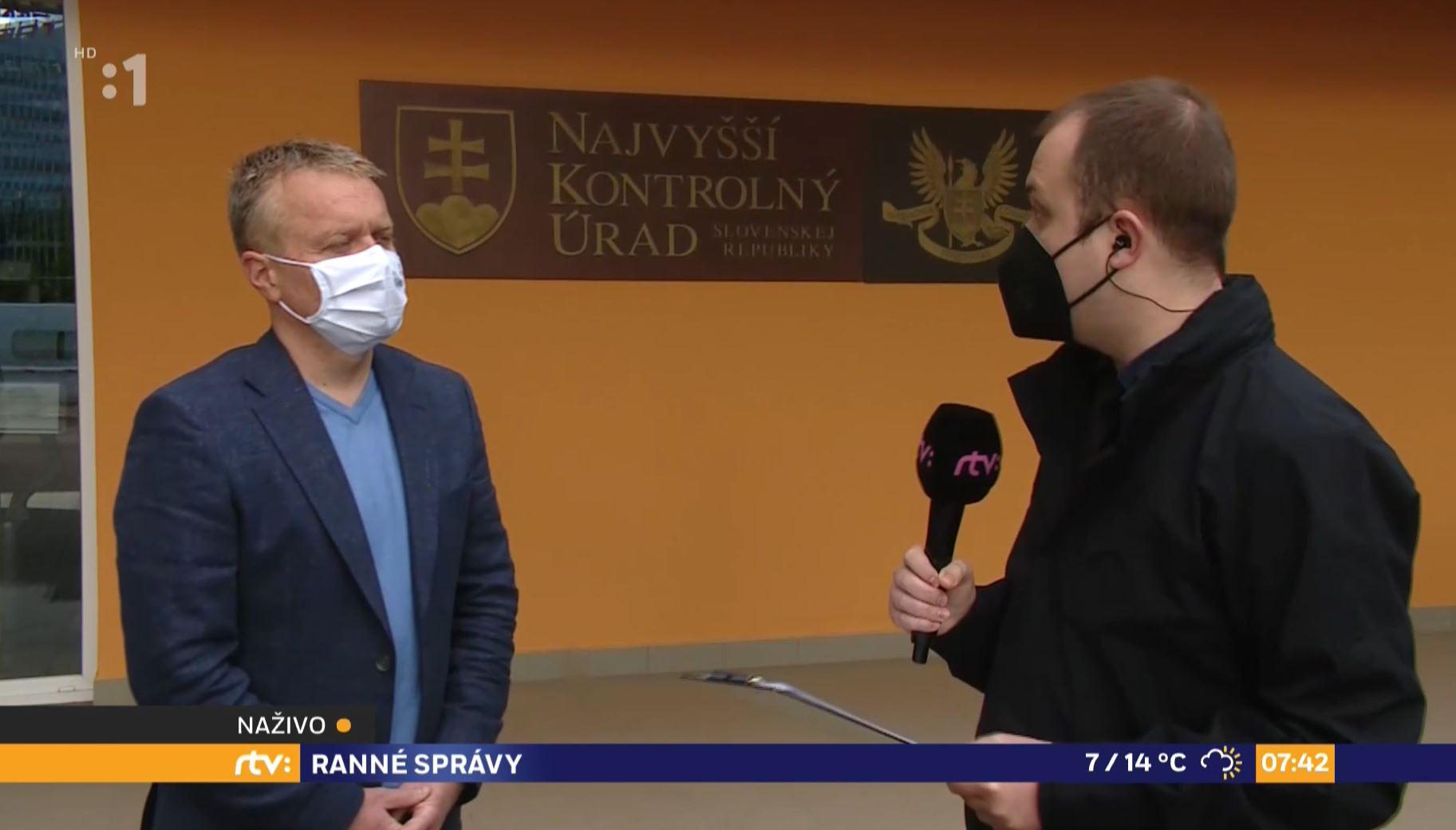 Ľ. Andrassy v RTVS, 18.5.2021