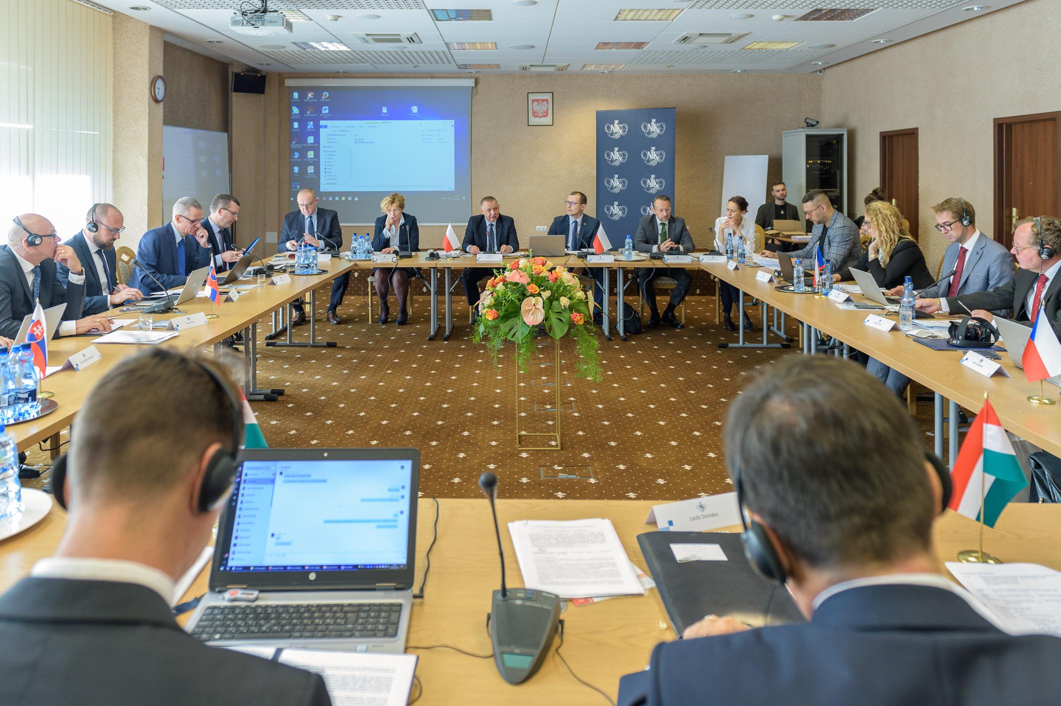 Stretnutie predsedov NKÚ krajín V4
