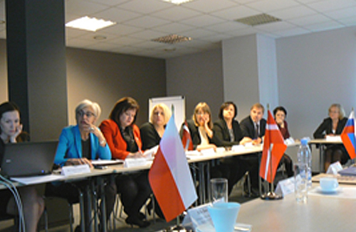 SAI of Latvia top management and its Auditor General Elita Krumina (third from left).