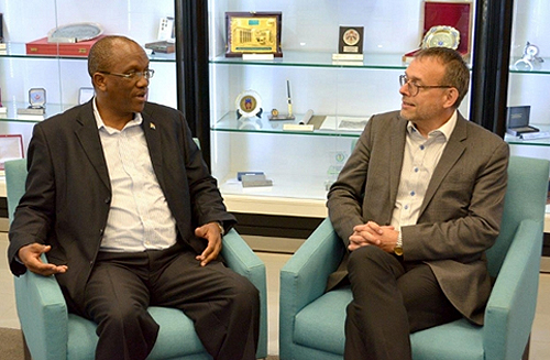 Kimi Makwetu – CBC Chair (left) and Magnus Lindell – CBC Vice-Chair