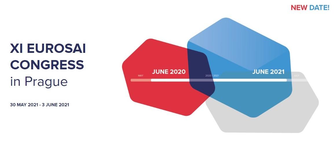 Logo Eurosai 2021 Prague Congress