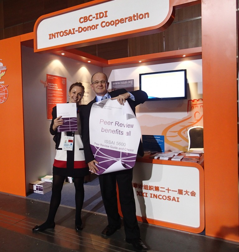 Promoting at the INCOSAI 2013