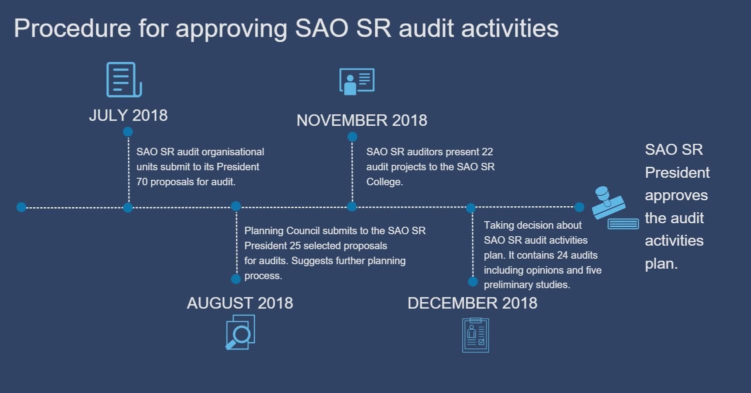 SAO audit activities